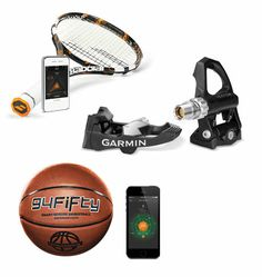 Way Beyond the Wristband: Crazy-Smart Fitness Trackers Now in Basketballs, Tennis Rackets, and Bikes