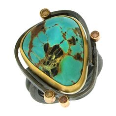 Sydney Lynch: Turquoise Ring | Aaron Faber