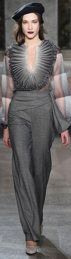 Luisa Beccaria.Fall 2015... I love the pants!! The shirt is not my style though