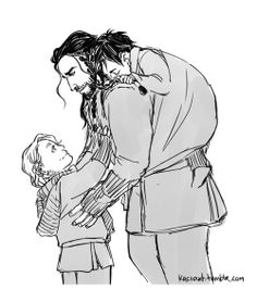 """Come here Fili. I think it's about time we get you two home and to bed."""
