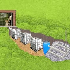 """Explore our site for more details on """"rainwater harvesting diy"""". It is an exceptional location to read more. Diy Septic System, Septic Tank Systems, Backyard Projects, Outdoor Projects, Septic Tank Design, Fossa Séptica, Outdoor Tub, Sewer System, Drainage Solutions"""