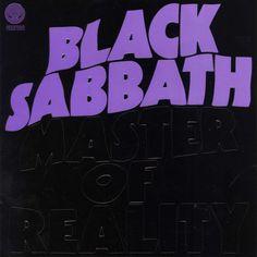 Black Sabbath: Master of Reality Remaster) - Music Streaming - Listen on Deezer Black Sabbath Album Covers, Black Sabbath Albums, Master Of Reality, Custom Screen Printing, Ozzy Osbourne, Band Logos, Lp Vinyl, Design Quotes, Music Bands