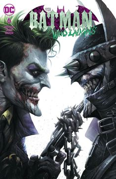 Batman Who Laughs 6 Francesco Mattina Trade Variant Joker Dark Nights Metal Joker Batman, Joker Art, Joker And Harley, Batman Metal, Joker Comic, Gotham Batman, Batman Robin, Harley Quinn, Comic Art