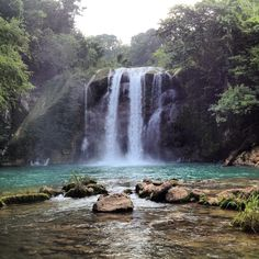 Saut Mathurine waterfall in the south of Haiti ( Les Cayes)