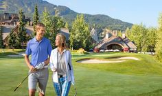 Couples that play together, stay together, right? :-) Enjoy three nights at The Fairmont Chateau Whistler, 3 rounds of golf at Fairmont Golf Course & a pampering session at Scandianve Spa.
