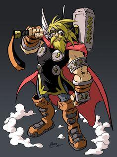 God of Thunder by NachoMon