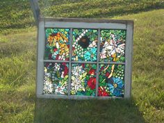 Mosaic Stain glass reserved for Bride by Mosaicsandmore1 on Etsy, $220.00