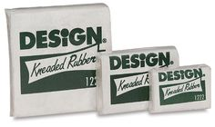 Kneaded Rubber Erasers