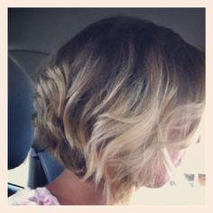 Short hair ombré!