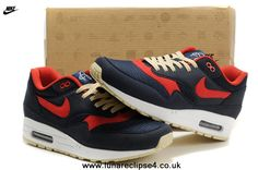 huge discount c8502 9d53a Find New Arrival Nike Air Max 1 87 Mens Dark Blue Red online or in  Footlocker. Shop Top Brands and the latest styles New Arrival Nike Air Max 1  87 Mens Dark ...