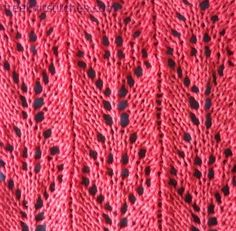 beginner knitting projects Sprig 2