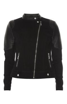 Primark - Black PU Motocross Jacket