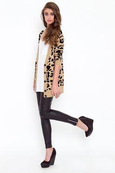 leather leggings + side zip