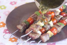 Brochetas de Ternera en salsa de hierbabuena - Blogosfera Thermomix