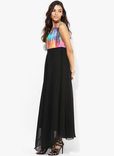 Buy Salt Multicoloured Printed Maxi Dress for Women Online India, Best Prices, Reviews | SA453WA82FJDINDFAS