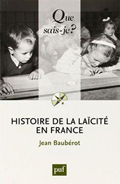 Histoire de la laicité en France de Jean Baubérot http://www.amazon.fr/dp/2130624456/ref=cm_sw_r_pi_dp_8Mg-ub1V276W0