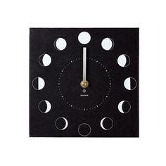 Eco Moon Phase Clock | outdoor clock | UncommonGoods