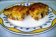 Mi Diversión en la cocina: Tortilla de Beicon Cebolla y Queso