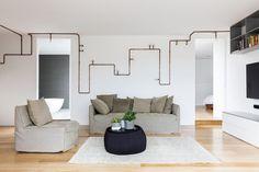 10 vezes em que os fios e cabos fizeram parte do décor  O estilo industrial é uma das maiores tendências do ano. Parte dele, os canos aparentes deixam o décor mais descolado e têm aparecido cada vez mais nos ambientes