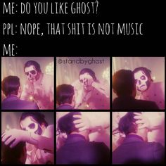 """685 Likes, 26 Comments - GHOST (@standbyghost) on Instagram: """"Wtf?  #ghost #ghostbc #ghostband #thebandghost #ifyouhaveghost #papaemeritusiii #papaemeritusii…"""""""