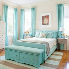 """Guest Bedroom from """"Getting Organized: Always Ready For Guests"""""""