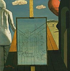 Famous handmade painting reproduction Giorgio de Chirico The Double Dream of Spring on oil painting canvas for home decor $46