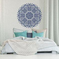 Mandala pared calcomanía dormitorio Mandala vinilo por HomyVinyl