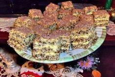 prăjitura regală Delicious Desserts, Dessert Recipes, Yummy Food, Paleo Recipes, Cooking Recipes, Russian Desserts, Food Wishes, Romanian Food, Hungarian Recipes