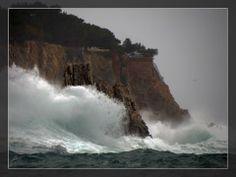 Tempête sur la Madrague...  http://mistoulinetmistouline.eklablog.com https://www.facebook.com/pages/Mistoulin-et-Mistouline-en-Provence/384825751531072