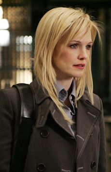 Lilly Rush (Kathryn Morris) in Cold Case