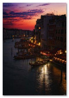 After sunset……Venice, Province of Venezia , Veneto Italy