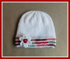 marianna's lazy daisy days: Christmas Glitz Baby Hat & Mittens