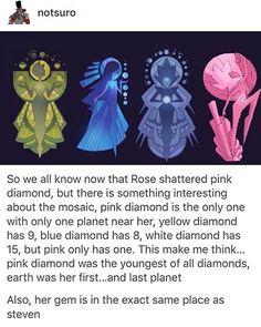i still don't understand why rose would shatter pink diamond and let the other diamonds live #stevenuniverse #summerofsteven