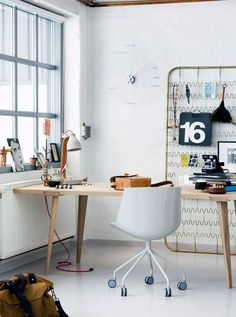 50 Most Beautiful Nordic-Style Workspaces //Manbo