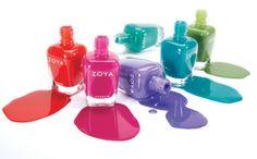 Zoya Island Fun Collection - Summer 2015  (creams)