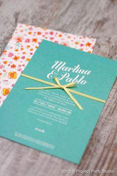 Invitaciones de boda que enamoran