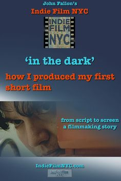 read about and then watch 'in the dark' - John Fallon's short film thriller about a man trapped in a room with no way out