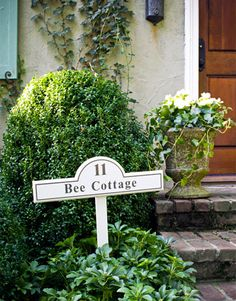 House Facade Makeover - Bee Cottage Front Yard by Frances Schultz - House Beautiful