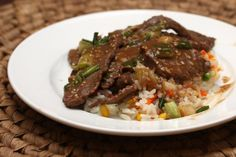 Crock Pot Teriyaki Steak: Teriyaki Steak