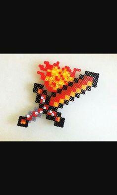 Minecraft beads