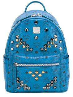 MCM Stark backpack. #mcm #bags #leather #backpacks #