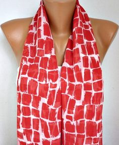 Infinity Scarf Shawl Circle Scarf Loop Scarf  Gift by fatwoman, $17.00