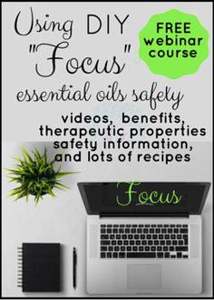 Focus Essential Oils | Using Essential Oils Safely
