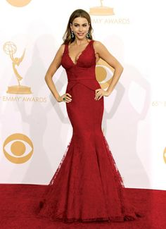 Emmys 2013 | Sofia Vergara in Vera Wang