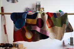 crocheted blanket by ~<0>~, via Flickr