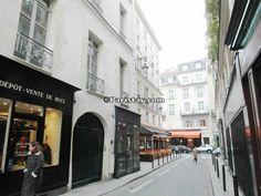 rue de Bourbon le Château - our home away from home in Paris.