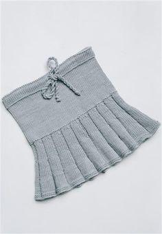 1502: Modell 17 Skjørt #alpakka #strikk #knit
