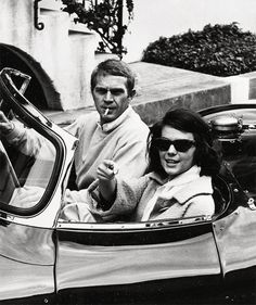 Steve McQueen & Natalie Wood