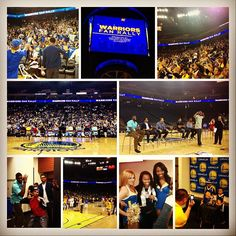#DubNation certainly represented tonight, as more than 5,000 enthusiastic fans showed up for tonights fan rally at @Oracle Arena