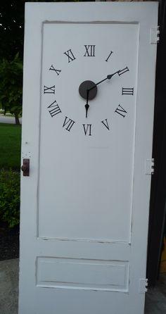 DIY Door Clock and DIY Project Parade   DIY Show Off ™ - DIY Decorating and Home Improvement Blog